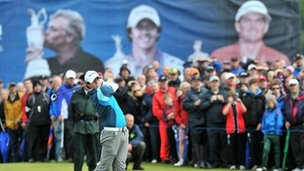 Rory McIlroy was one of the local stars who played at Royal Portrush when it hosted the Irish Open last year