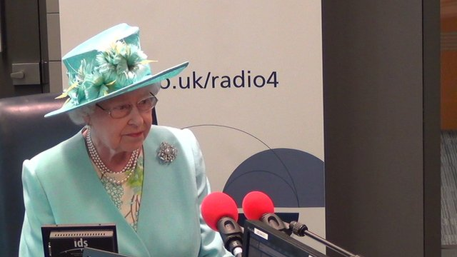 The Queen on Radio 4