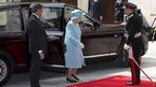 The Queen arrives to officially open New Broadcasting House