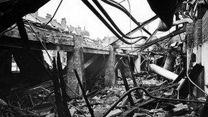 Maida Vale Studios, May 1941