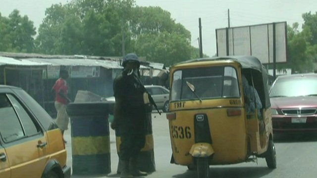 Soldier in Maiduguri