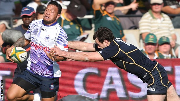Samoa beat Scotland for the first time in Durban