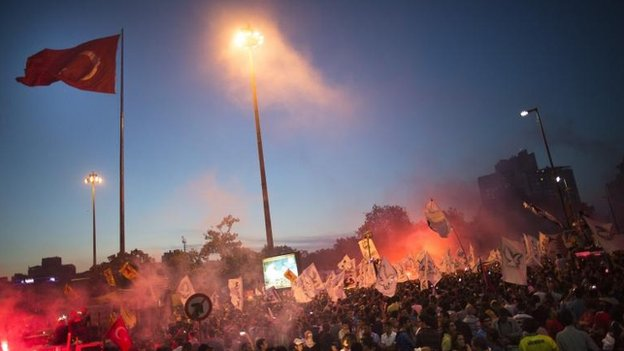 Taksim Square, Istanbul (8 June)