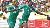 Nigeria's Sunday Mba and Ahmed Musa