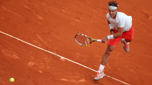 The moment Rafael Nadal made tennis history at French Open