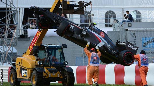 Marshal dies at Canadian GP