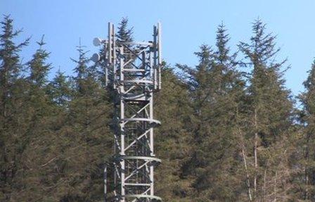 Mobile telephone mast