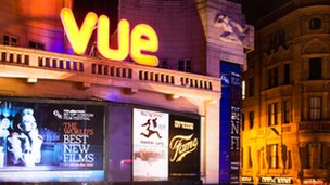 Vue  runs the UK's highest grossing cinema at Shepherd's Bush Westfield shopping centre