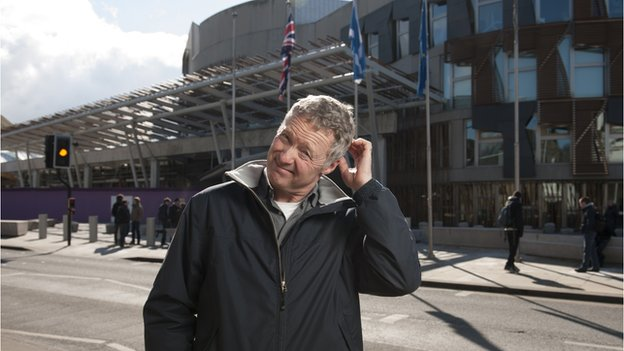 Rory Bremner visited Holyrood as part of his journey to understand Scottish politics