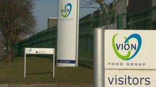 Vion Food Group sign