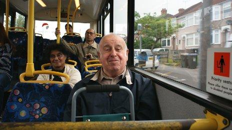 Passengers on the 360