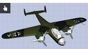 3D model of Dornier