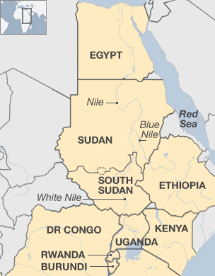 Dams In The Horn Of Africa Killing Rivers EthiopiaEgypt Trade - Map of egypt ethiopia