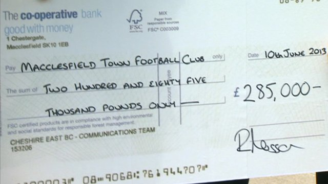 Macclesfield Town become community club