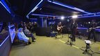The Script perform for the Queen in the LIve Lounge