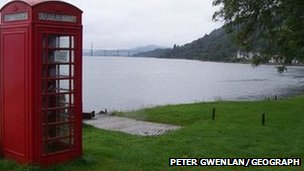 Phone box at Kilmuir