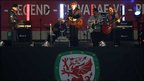 Super Furry Animals performed pre-match at the Gary Speed Memorial Match