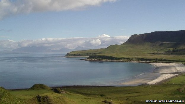 Laig beach on Eigg