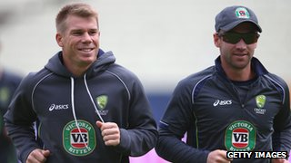 David Warner & Phil Hughes