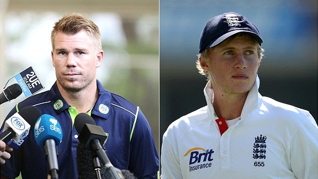 David Warner, Joe Root