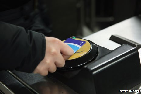 Oyster card user