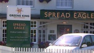 Spread Eagle, Bury St Edmunds