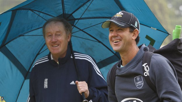 Surrey's Ricky Ponting