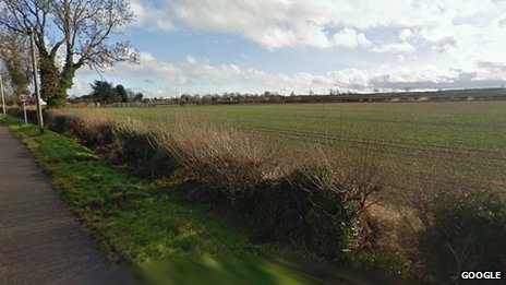 Land to the south of Park Lane in Castle Donington in Leicestershire