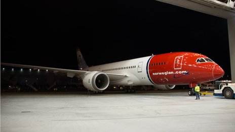 Norwegian Air Dreamliner