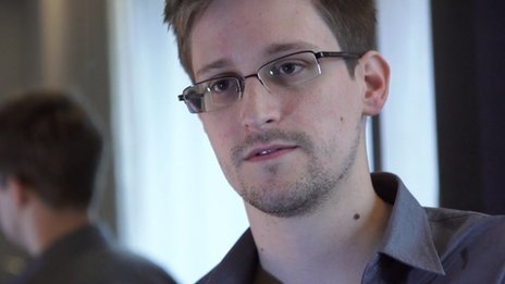Chinese media are giving top coverage to Mr Snowden's recent revelations on cyber-spying