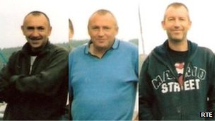Paul, Kenny and Shane Bolger died when their fishing boat capsized