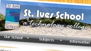St Ives School website. Pic: St Ives School