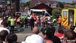 TT crash