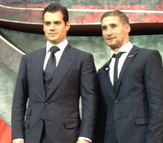 Henry Cavill and Sam Tomkins