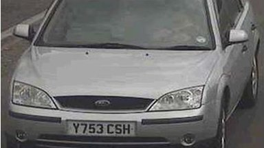 Silver Ford Mondeo, with registration number Y753CSH