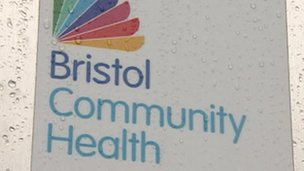 Bristol Community Health sign