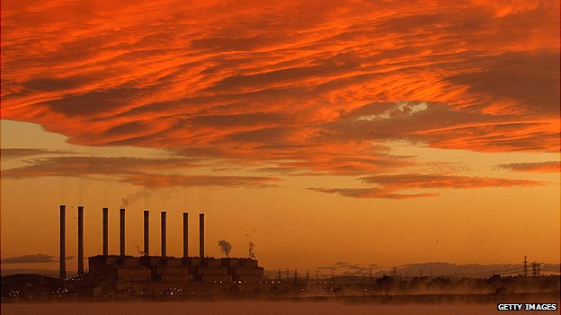 Coal-fired power station in Australia