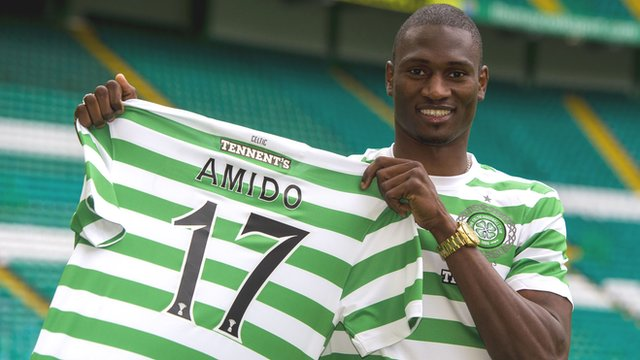 New Celtic striker Amido Balde