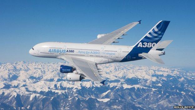 A380 testing
