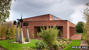 The Britten archive building
