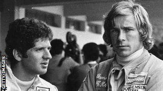 Jody Scheckter and James Hunt