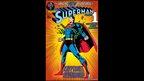 Superman comic book cover