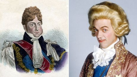 The Prince Regent - as portrayed by his contemporaries, and by Hugh Laurie