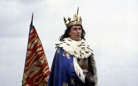 Peter Cook as Richard III