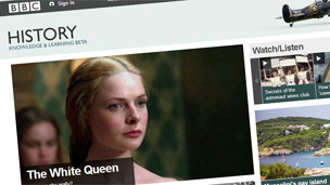 bbc history front page