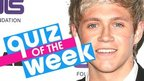Niall Horan Quiz of the Week poster