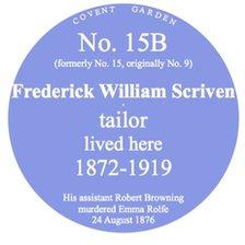 'Blue plaque' for Cambridge house