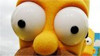 Homer Simpson's eyes