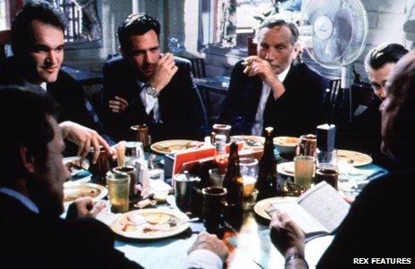 Reservoir Dogs diner scene