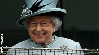 The Queen is a passionate racing fan